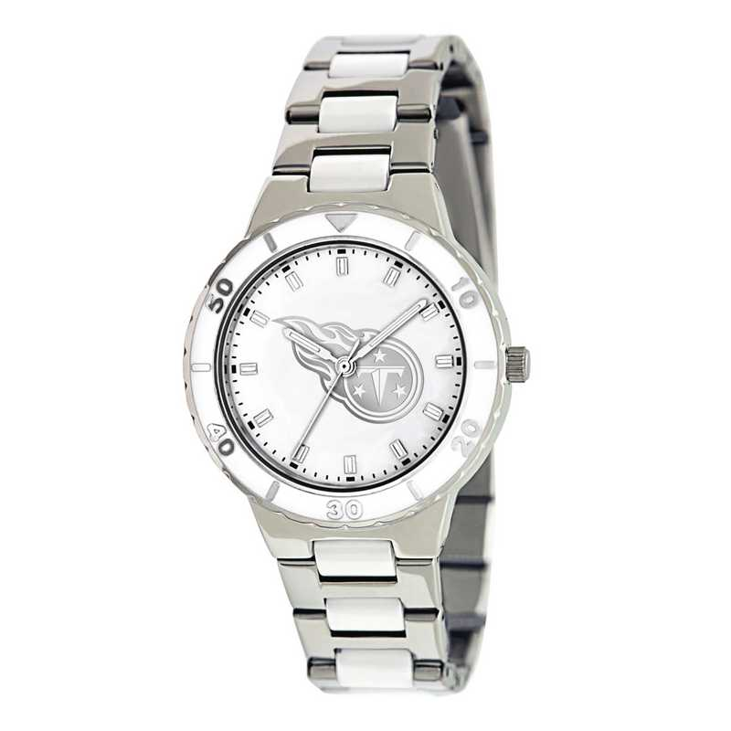 XWL773: Ladies NFL Tennessee Titans Mother of Pearl Watch