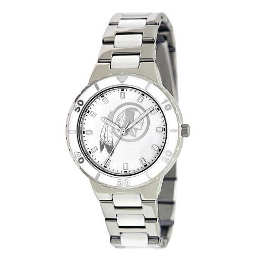 XWL774: Ladies NFL Washington Redskins Mother of Pearl Watch