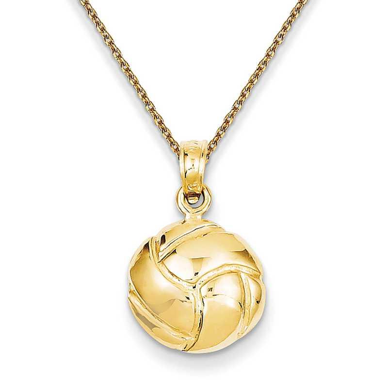 Jewel Tie 14k White Gold Diamond-Cut Initial I Pendant Charm