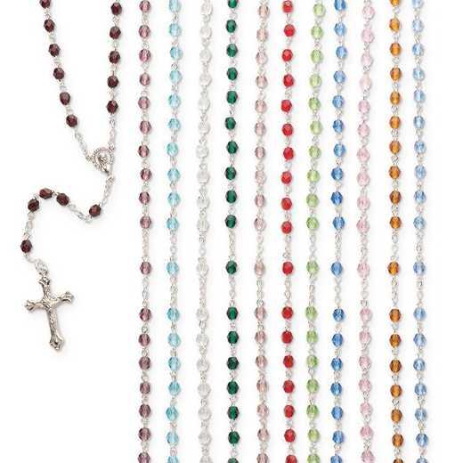 GM23695: Birthstone Rosary Assortment Set of 12