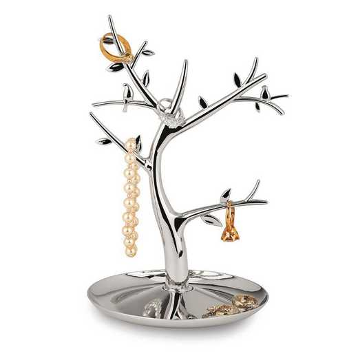GM18714: Nickel-plated Jewelry Tree with Multi Branches