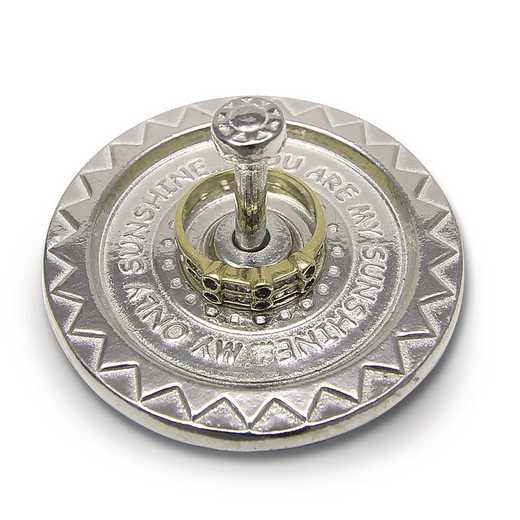 GM20608: Pewter You Are My Sunshine Ring Holder