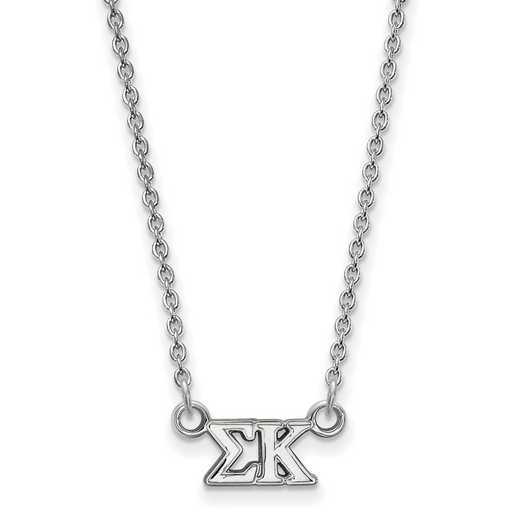 SS006SKP-18: 925 Logoart SP Necklace