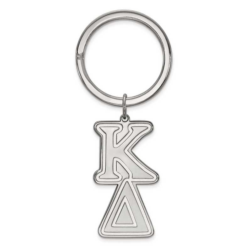 SS010KD: SS LogoArt Kappa Delta Key Chain