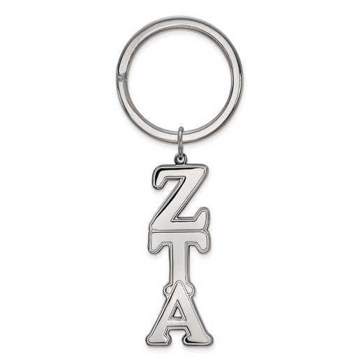 SS010ZTA: SS LogoArt Zeta Tau Alpha Key Chain