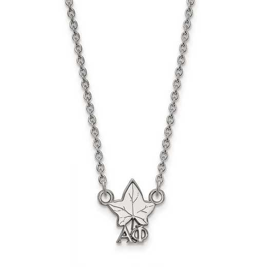 SS039APH-18: SS LogoArt Alpha Phi XS Pend w/Necklace