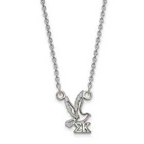 LogoArt Alpha Xi Delta Extra Small Enameled Pendant w//Chain 18 Inch Chain