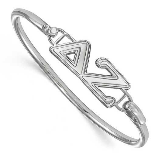 Delta Zeta Sterling Silver Bangle