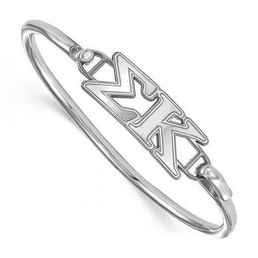 Sigma Kappa Sterling Silver Bangle