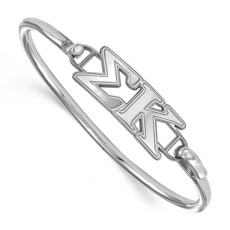 Sigma Kappa Sterling Silver Bangle