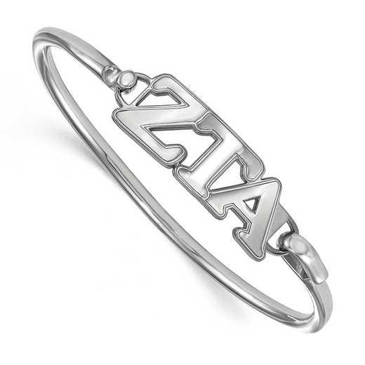 Zeta Tau Alpha Sterling Silver Bangle