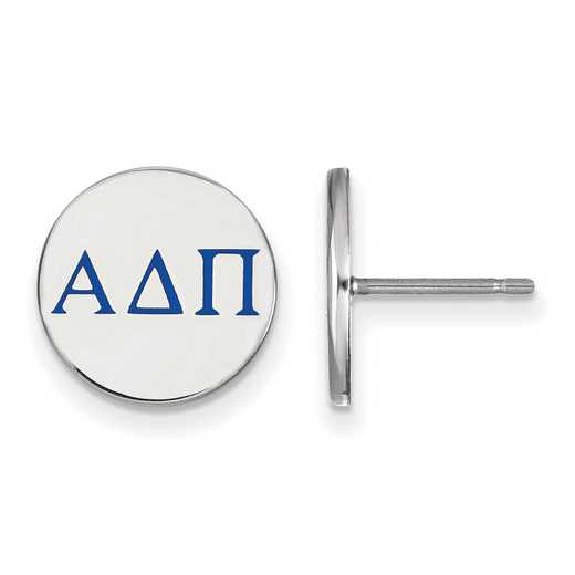 SS032ADP: 925 Alpha Delta Pi Enml Post Ears