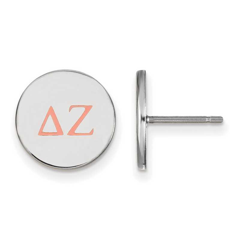 SS032DZ: 925 Delta Zeta Enml Post Ears