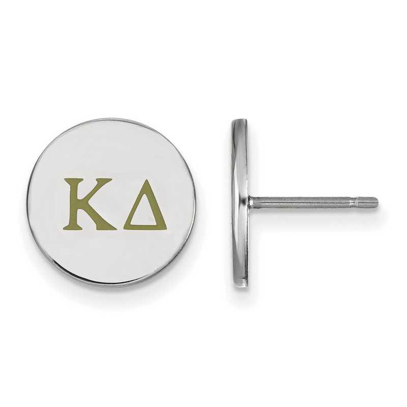 SS032KD: 925 Kappa Delta Enml Post Ears