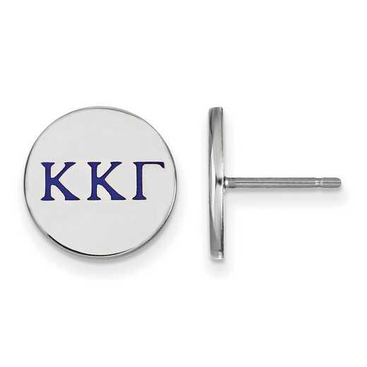SS032KKG: 925 Kappa Kappa Gamma Enml Post Ears