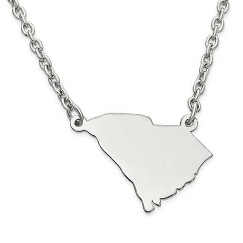 XNA706SS-SC: 925 SOUTH CAROLINA PENDANT W CHAIN