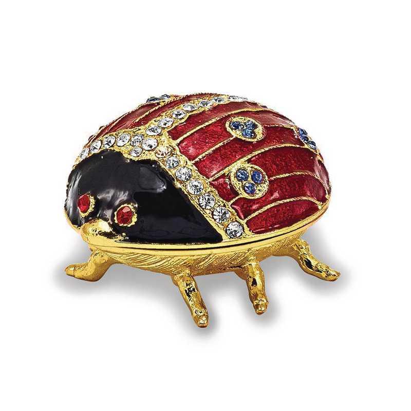 BJ2013: Bejeweled LUXY Ladybug Trinket Box