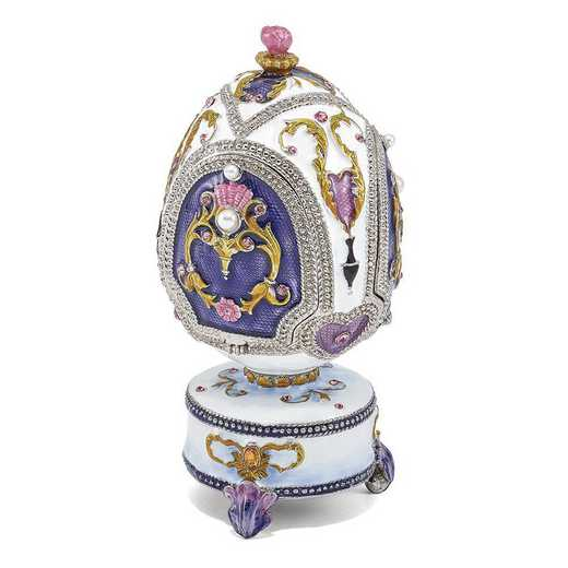 BJ2105: Bejeweled MERRY-GO-ROUND Carousel Music Egg