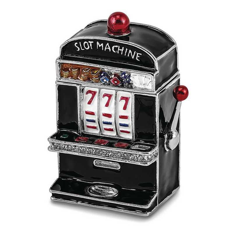 BJ4044: Bejeweled LUCKY 7 Slot Machine Trinket Box