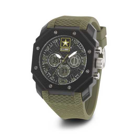 XWA4548: US Army Wrist Armor C28 Silicone Strap Ana-Digital Watch