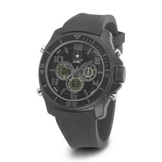 XWA4550: US Army Wrist Armor C24 Blk Stealth Ana-Digital Watch