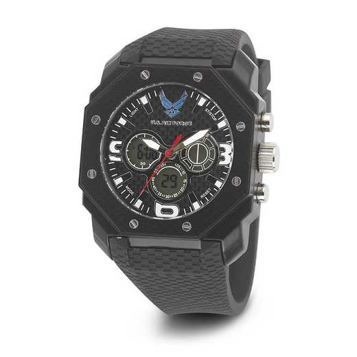 XWA4588: US AirForce Wrist Armor C28 Silicone Strap Ana-Digital Watch