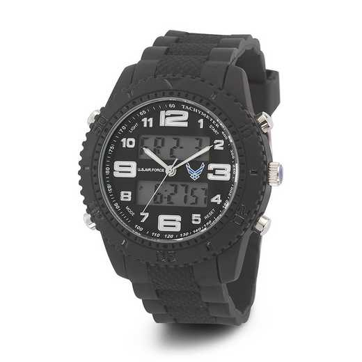 XWA4590: US AirForce Wrist Armor C27 Silicone Strap Ana-Digital Watch