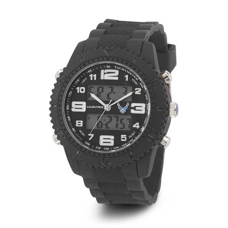 XWA4590: US AirForce Wrist Armor C27 Silicone Strap Ana-Digital Watch