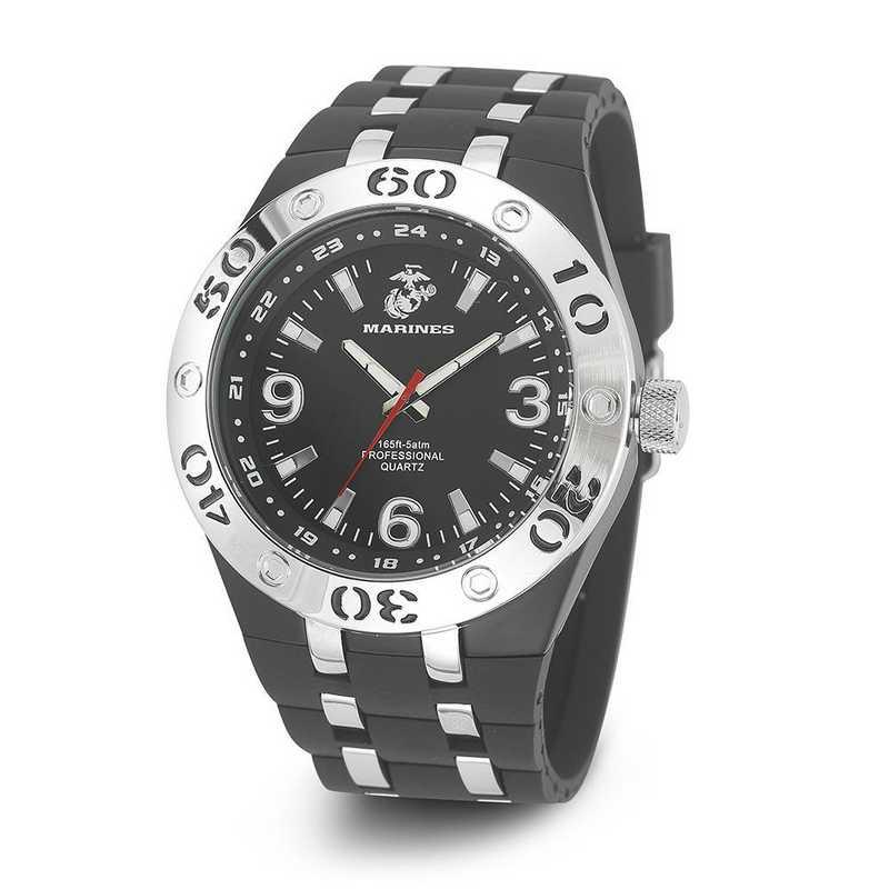 XWA4606: US Marines Wrist Armor C22 Blk Dial Watch