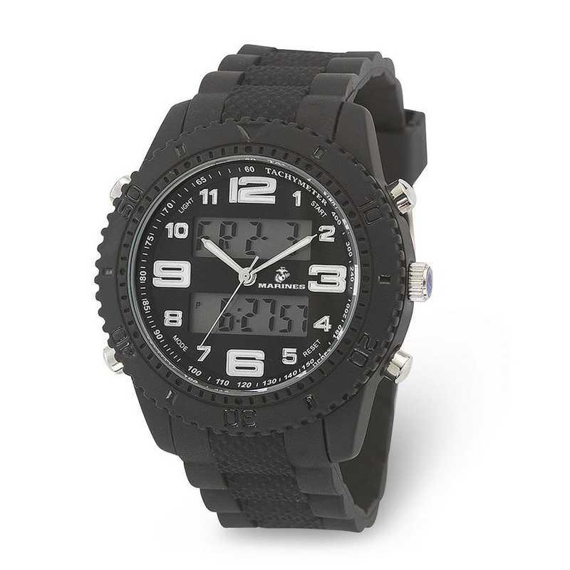 XWA6008: US Marines Wrist Armor C27 Silicone Strap Ana-Digital Watch