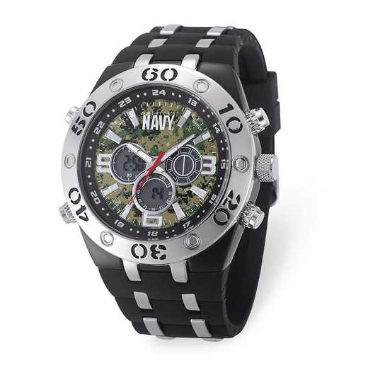 XWA6162: US Navy Camo Dial Chronograph Watch