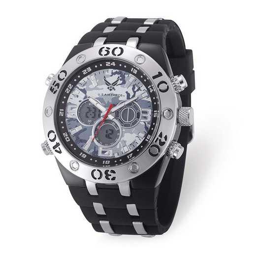 XWA6163: US Air Force Camo Dial Chronograph Watch