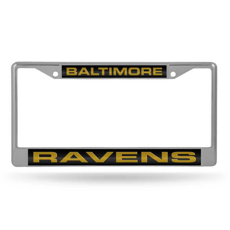 Rico Baltimore Ravens Chrome License Plate Frame