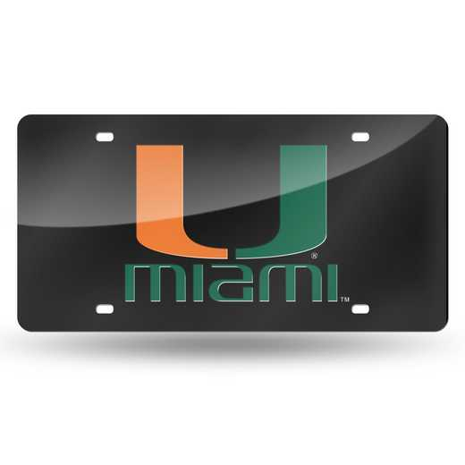 LZC100301: NCAA LZC Laser Cut Tag Miami