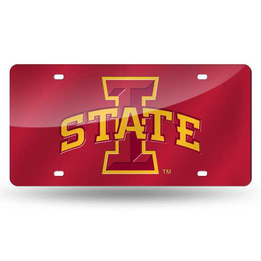LZC250201: NCAA LZC Laser Cut Tag Iowa ST
