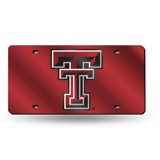 LZC260801: NCAA LZC Laser Cut Tag Texas Tech