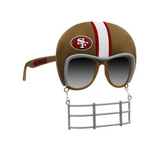 SUN1901: 49ERS NOVELTY SUNGLASSES