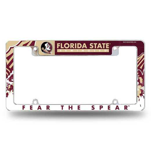AFC100201T: FLORIDA STATE ALL OVER CHROME FRAME