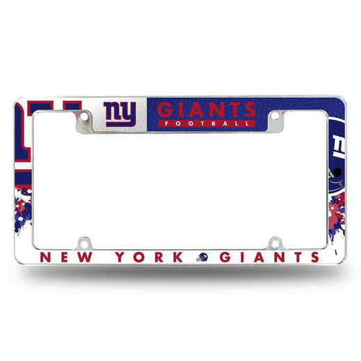AFC1401T: GIANTS - NY ALL OVER CHROME FRAME