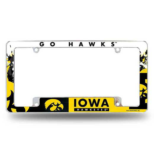 AFC250101B: IOWA ALL OVER CHROME FRAME