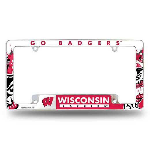 AFC450101B: WISCONSIN ALL OVER CHROME FRAME