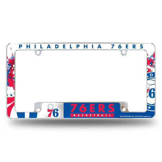 AFC90001B: 76ERS ALL OVER CHROME FRAME