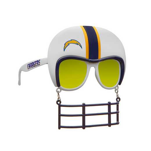 SUN3401: LOS ANGELES CHARGERS NOVELTY SUNGLASSES