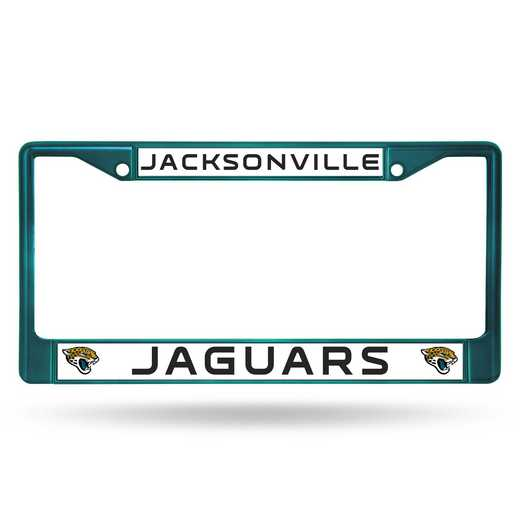 FCC0903AQ: NFL FCC Chrome Frame (Colored) Jaguars