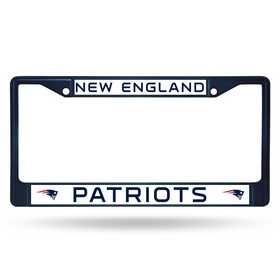 FCC1505NV: NFL FCC Chrome Frame (Colored) Patriots