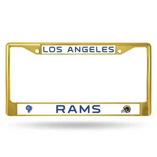 FCC3004GD: NFL FCC Chrome Frame (Colored) Rams
