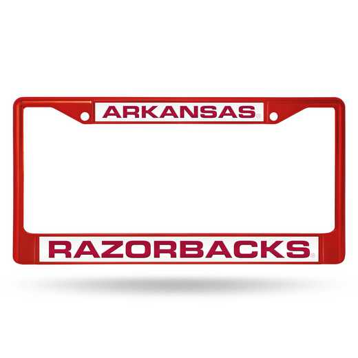 FNFCCL360102RD: NCAA FCCL Lsr Color Chrome Frm Arkansas