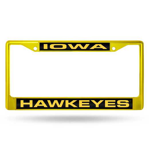 FNFCCL250103YL: NCAA FCCL Lsr Color Chrome Frm Iowa