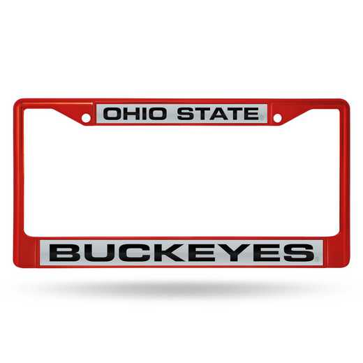 FNFCCL300102RD: NCAA FCCL Lsr Color Chrome Frm Ohio ST