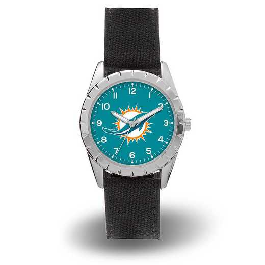 WTNKL1101: DOLPHINS SPARO NICKEL WATCH